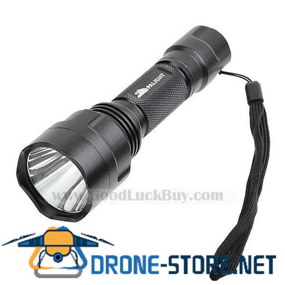 High Power Cree LED Light Flashlight Torch Lamp w/Battery + Charger
