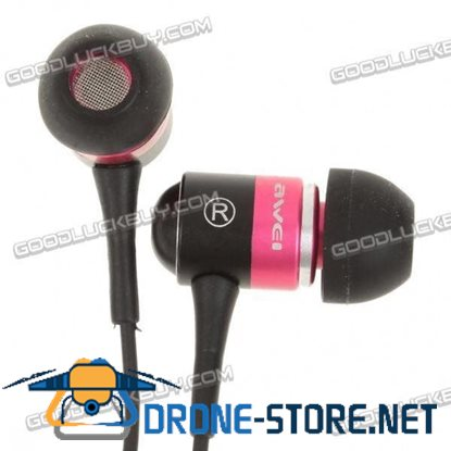 ES-Q3 In-Ear Earphone with 2 Earbuds 3.5mm Jack 12-20KHz