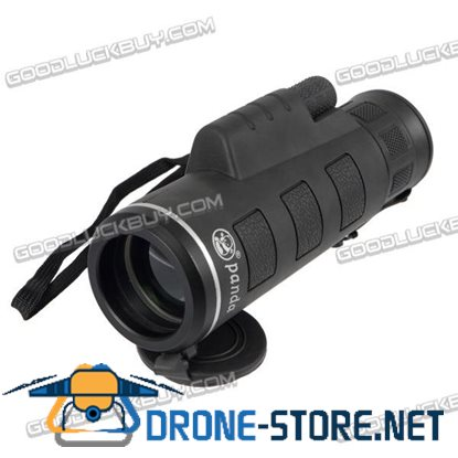 40x60 HD Optical Monocular Hunting Camping Hiking Telescope Day&Night Vision