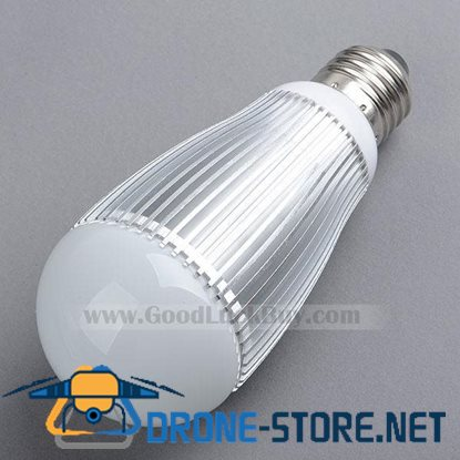 220V E27 LED White Light Spotlight Lamp Bulb 9x1W
