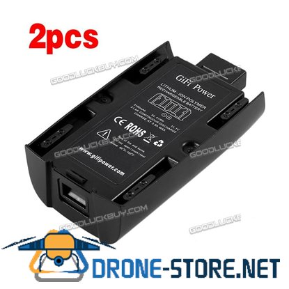 2 x 3100mAh 11.1V Lipo Battery Replacement For Parrot Bebop 2 Drone Quadcopter