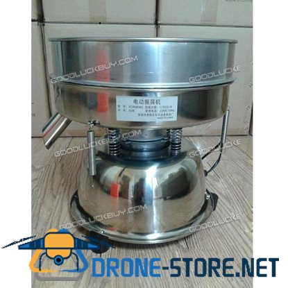 50W Stainless Steel Electric Chinese Medicine Vibrating Sieve Machine