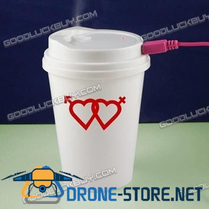 Cooler Mini Coffee Cup Mist Humidifier USB powered Air Purifier