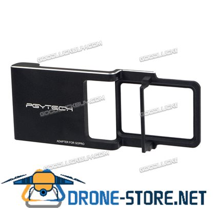 PGY GoPro Hero 5/4/3/3+ Adapter Mount Plate Holder for DJI Osmo Mobile Gimbal