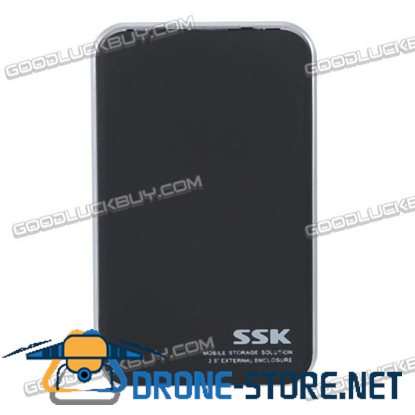 SSK HE-T200 USB2.0 to SATA 2.5inch Hard Disk Drive Enclosure Case