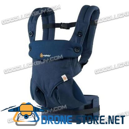 Ergo 360 Four Position Breathable Baby Infant Carrier New with Box Blue