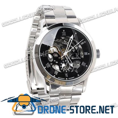Stainless Steel Automatic Mechanical Men Wrist Watch IK Colouring 98113