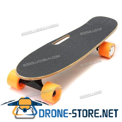250W Motor 15km/h Portable Electric Skateboard Longboard Board Wireless Remote