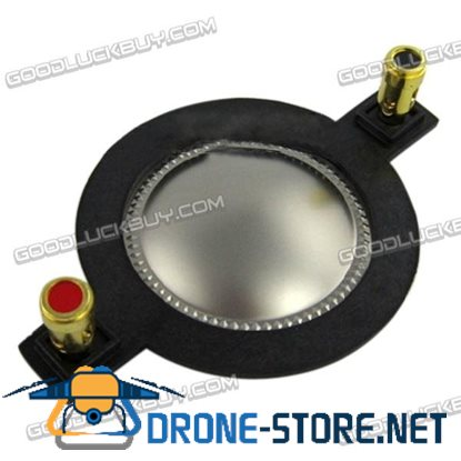 44.4 mm Flat Copper-clad Aluminum Wire Dome Diaphragm Tweeter Voice Coil Titanium Film w/Pillar