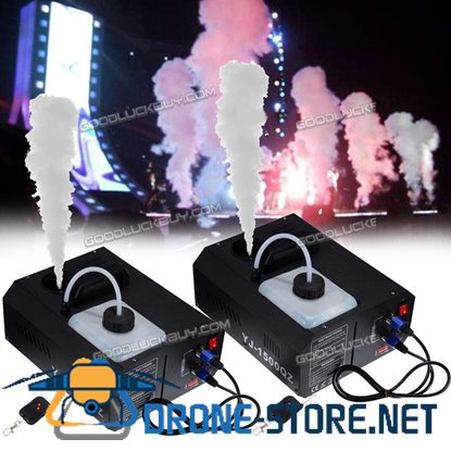 2Pcs 1500W Macchina DEL Fumo DMX Vertical Fogger Up Spray Up Colpo Smoke Fog Machine