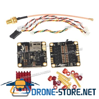 HGLRC XJB V1 Flytower F3 EVO 5V/3A BEC 2-6S XR 25A*4 396 4In1 BLHELI ESC Damped Mode Oneshot125 for FPV Drone