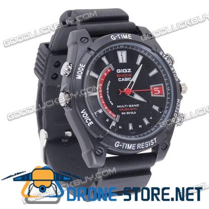 8GB HD Real 1080p Spy Hidden Camera Watch IR Mini DVR Waterproof
