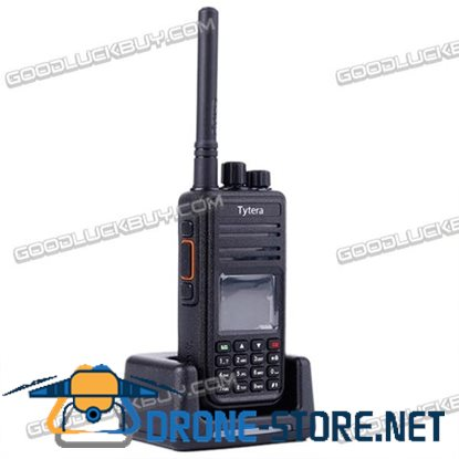Tytera TYT MD380 UHF DMR 400-480MHz Digital Walkie Talkie Two Way Radio with Cable