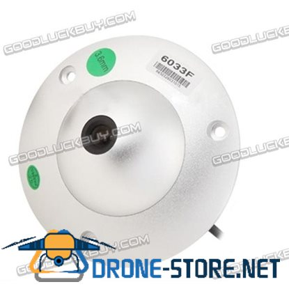 1/3 Sony 650TVL 3.6mm Lens Waterproof Color Dome CCD Video Camera