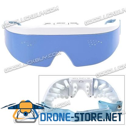 Electric Eye Care Massager Relax Massaging with Eye Compress Mask 2*AAA