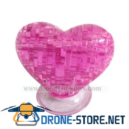 3D Crystal Furnish Heart Jigsaw Puzzle IQ Gadget