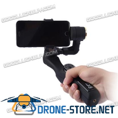 JJ-01 2-Axis Brushless Handheld Gimbal Phone Mount Support Bluetooth for Smart Phone iPhone Samsung