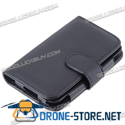 Touch Leather Case with Smart Hole for iPhone