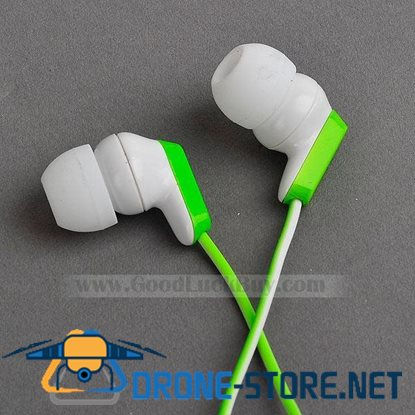 In-Ear Stereo Headphones Earphone for PC Laptop MP3 3.5mm Green