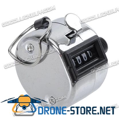 Handy Tally Digital Counter 4 Digits Number Arithmometer