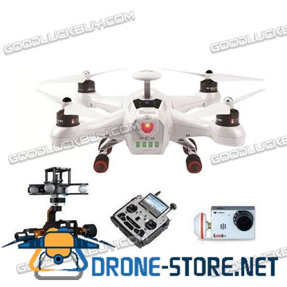 Walkera QR X350 Premium Quadcopter with Ground Station DEVO F12E Remote iLook+ Camera G-3D Gimbal