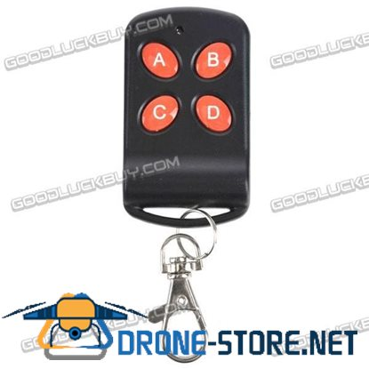 4 Keys Home Appliance Remote Control with Keychain 4 Channel