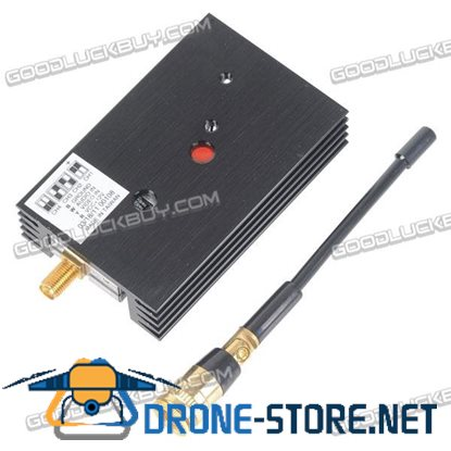1.2G 700mW Wireless AV Transmission FPV Transmitter Sender TX