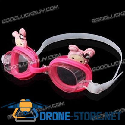 Cute Cartoon Style Swimming Goggle Glasses for Kids