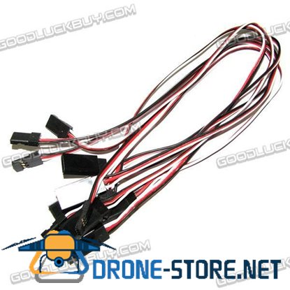 50CM 500mm Servo Extension (Servo Lead) x 10