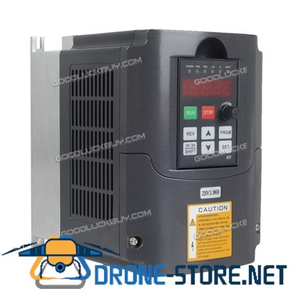 New Universal HY-3KW 4HP Variable Frequency Drive Inverter VFD 110V 220V