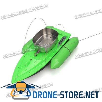 T10 Mini Carp Bait Fishing Fish Boat Course 300M with Remote Control Green