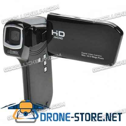 DY201 12MP Digital Video Camcorder with AV-Out SD