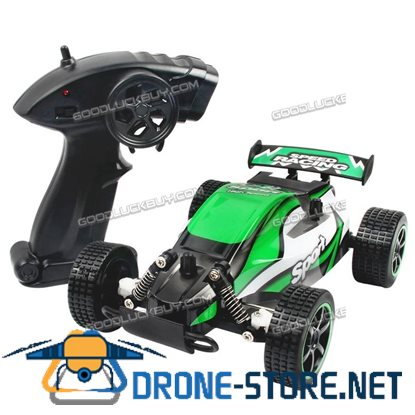 1/20 2WD High Speed Radio Remote Control RC Racing Buggy Car Off Road Truck RTR Green