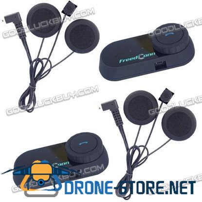 800M BT Motocycle Helmet Bluetooth Interphone TCOM-VB Intercom Headset FM