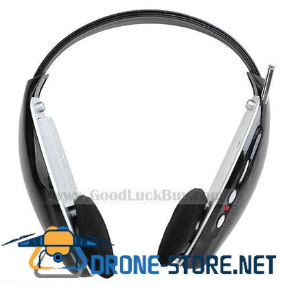4 in 1 Wireless Headset Headphone Net Chat FM to TV PC DVD