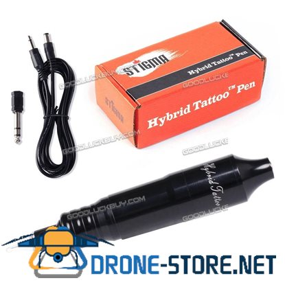 Solong Tattoo Hybrid Tattoo Pen Rotary Tattoo Machine Needle Cartridges EM105 Black