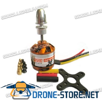 DYS 2212 1400KV Brushless Outrunner Motor for Airplane Aircraft w/ Adapter Mount