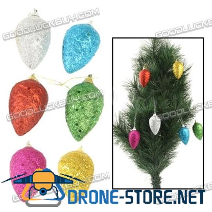 6pcs Colorful Christmas Hang Decoration