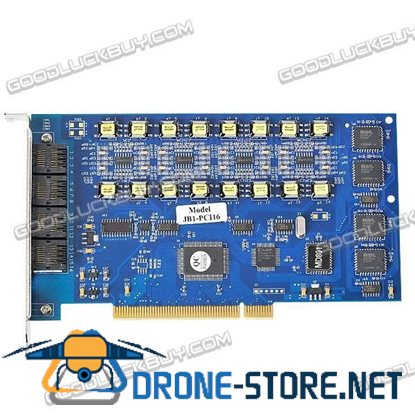 16 Channel PCI Recording Card for Telephone JB1-PCI16