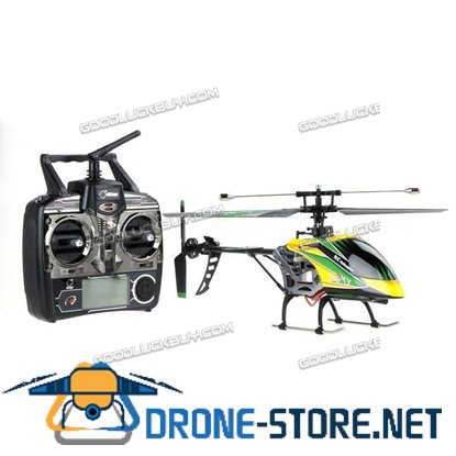 Wltoys V912 Large 4CH Single Blade RC Remote Control Helicopter w/ Gyro RTF Green