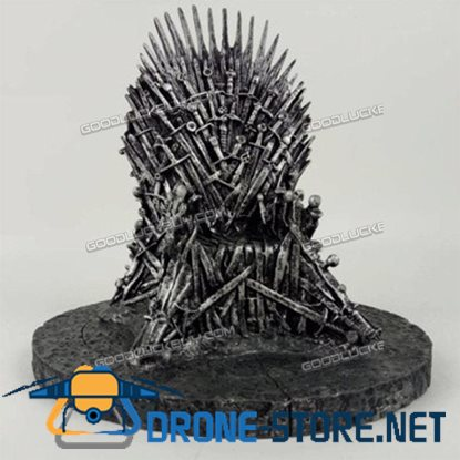 17cm The Iron Throne Game Of Thrones A Song Of Ice And Fire Replica Statue