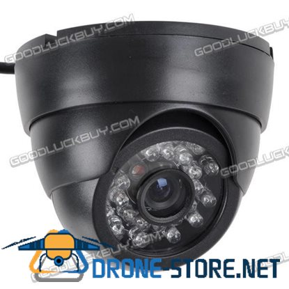 S801-A 24 LED 4GB CCTV Dome Security Camera Digital Video Recorder 3.6mm
