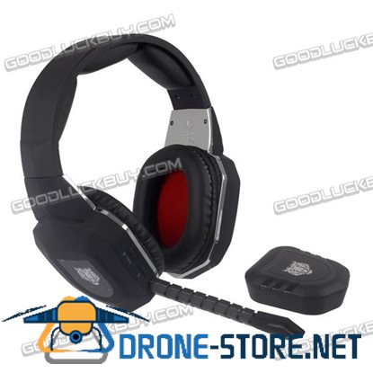 2.4GHz Stereo Wireless Gaming Headset Headphones with Transmitter for PC Xbox One/360 PS4