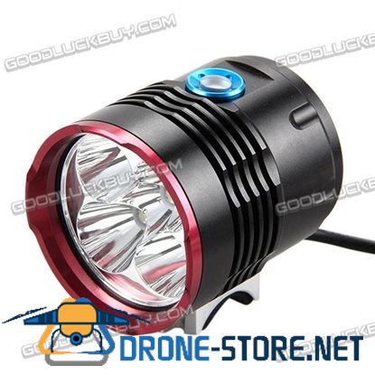 6000LM CREM XM L2 Front Bike Light Bicycle Lamps Headlamp Heidlight with Taillgiht LT-5L2
