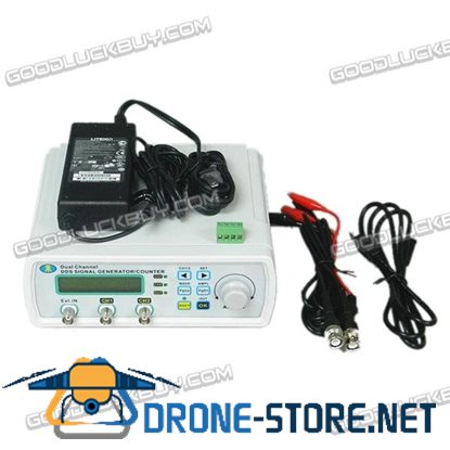 MHS-3200P 20M 0-80KHz Dual Channel Full Digital Control Function Signal Generator DDS Signal Source Frequency Meter