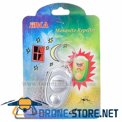 Mini Electronic Mosquito Insect Repeller keychain Ring