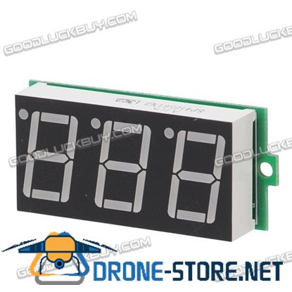 0.56'' 3.5V-30V Variable Precision Digital Voltmeter Red Color