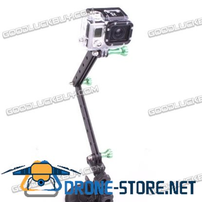 CNC Gopro HD Hero 2 Hero 3 Extended Extendable Arms and Screws Green