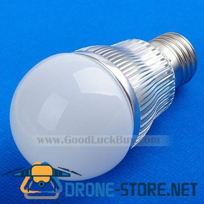 220V E27 LED White Light Spotlight Lamp Bulb 4x1W