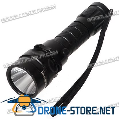 KinFire KCH-T6 3 Mode Cree XM-L T6 LED Flashlight 1200lm Portable Torch